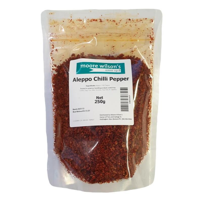 Moore Wilson's Aleppo Chilli Pepper