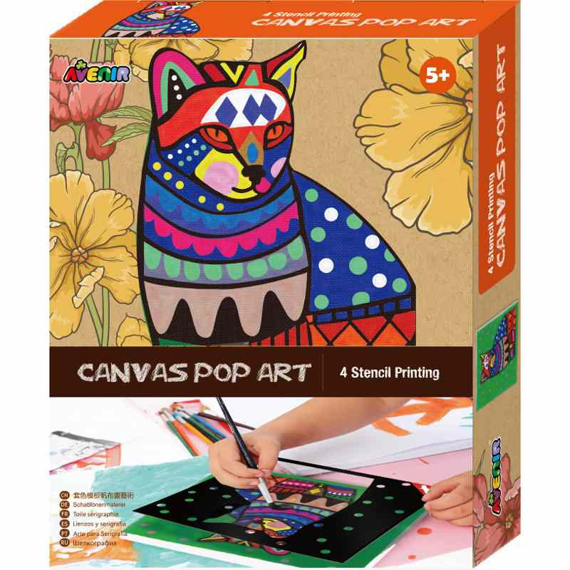 Avenir Canvas Pop Art Kit - Cat