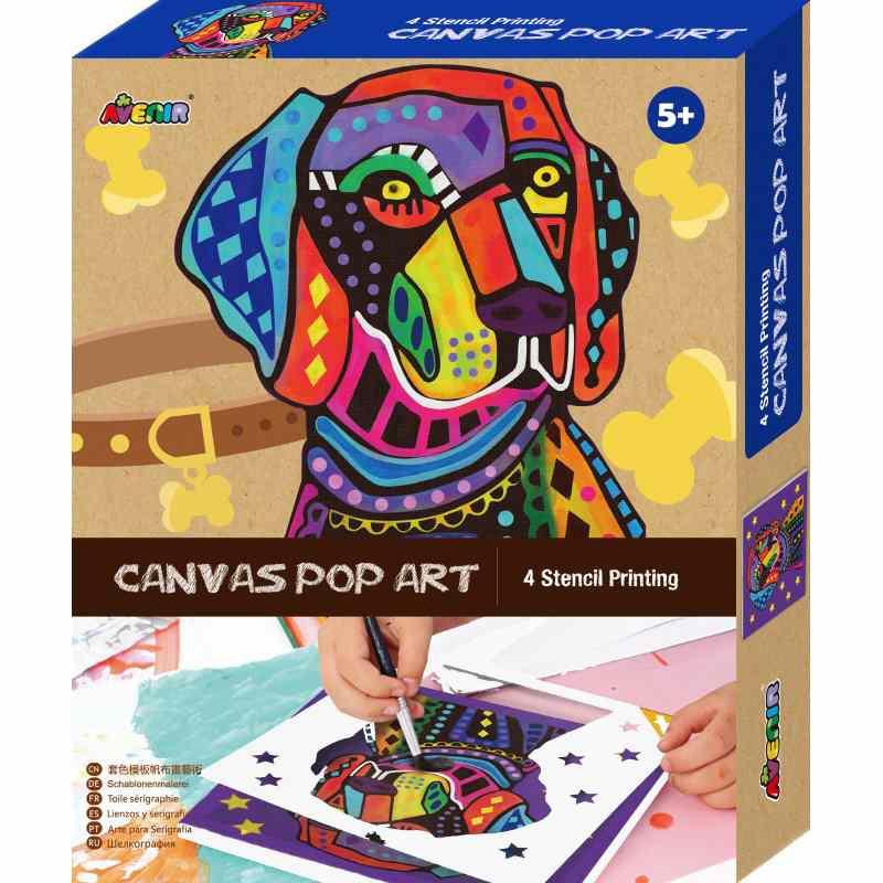 Avenir Canvas Pop Art Kit - Dog