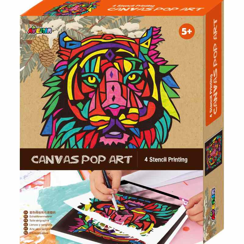 Avenir Canvas Pop Art Kit - Lion