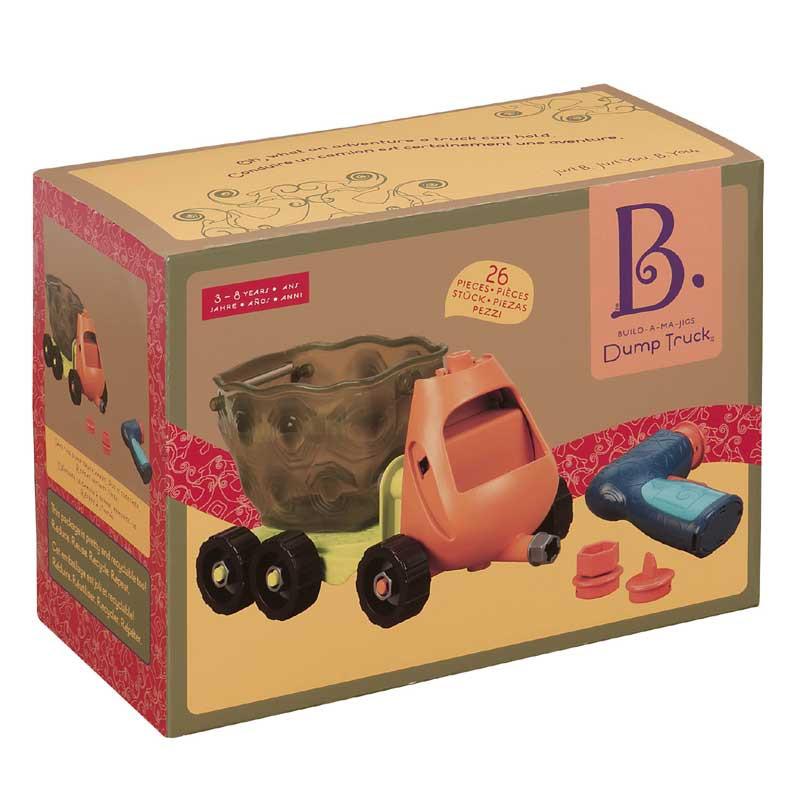 B Toys Build A Ma Jigs Dump Truck Boxed