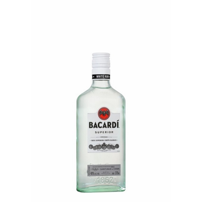 Bacardi Carta Blanca Rum 375ml