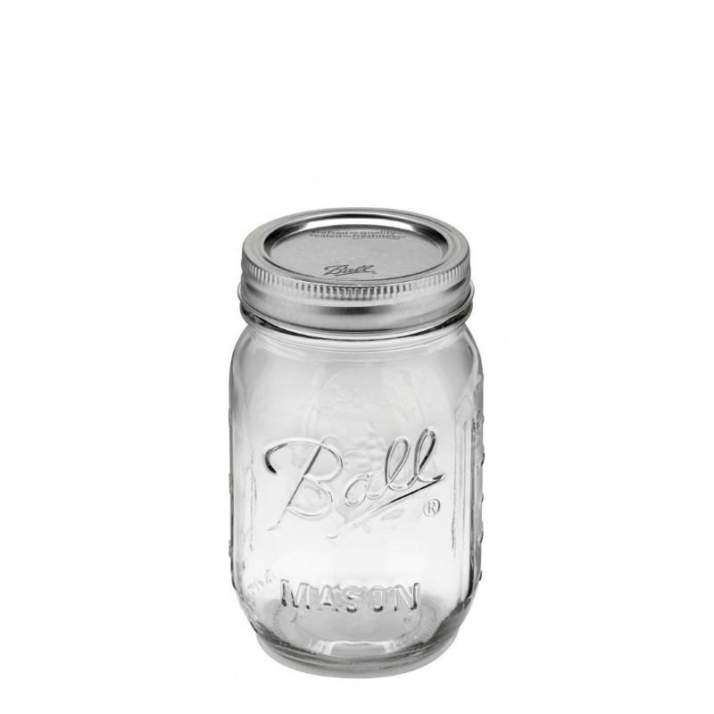 Ball Regular Mouth Pint Glass Preserving Jars