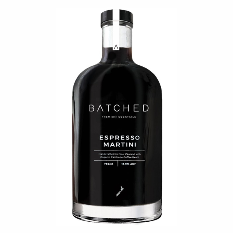 Batched New Zealand Espresso Martini