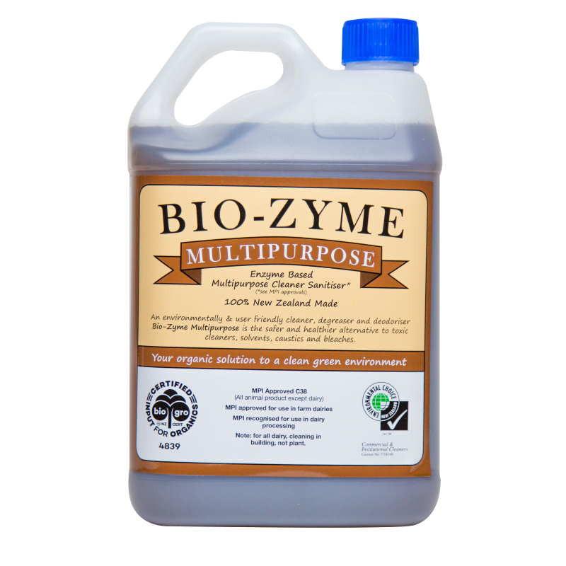 Bio-Zyme Multi Purpose Organic Cleaner 5 Litre