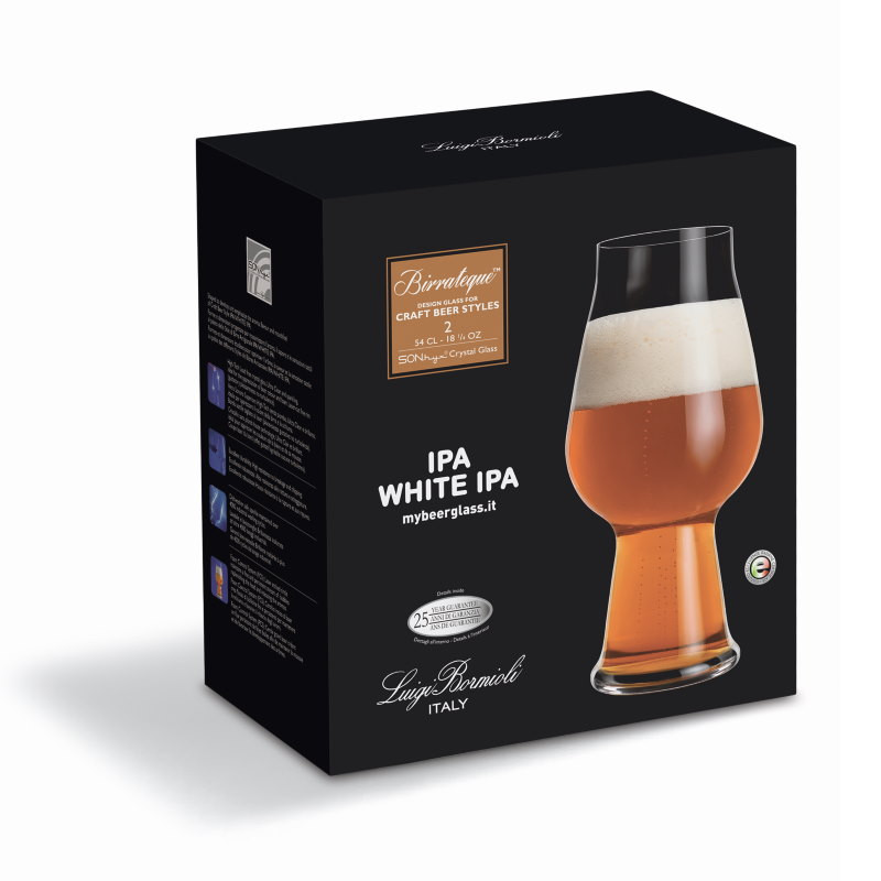 Luigi Bormioli Birrateque IPA Beer Glasses