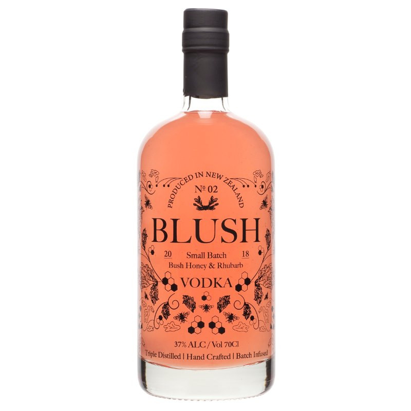 Blush Bush Honey & Rhubarb Vodka