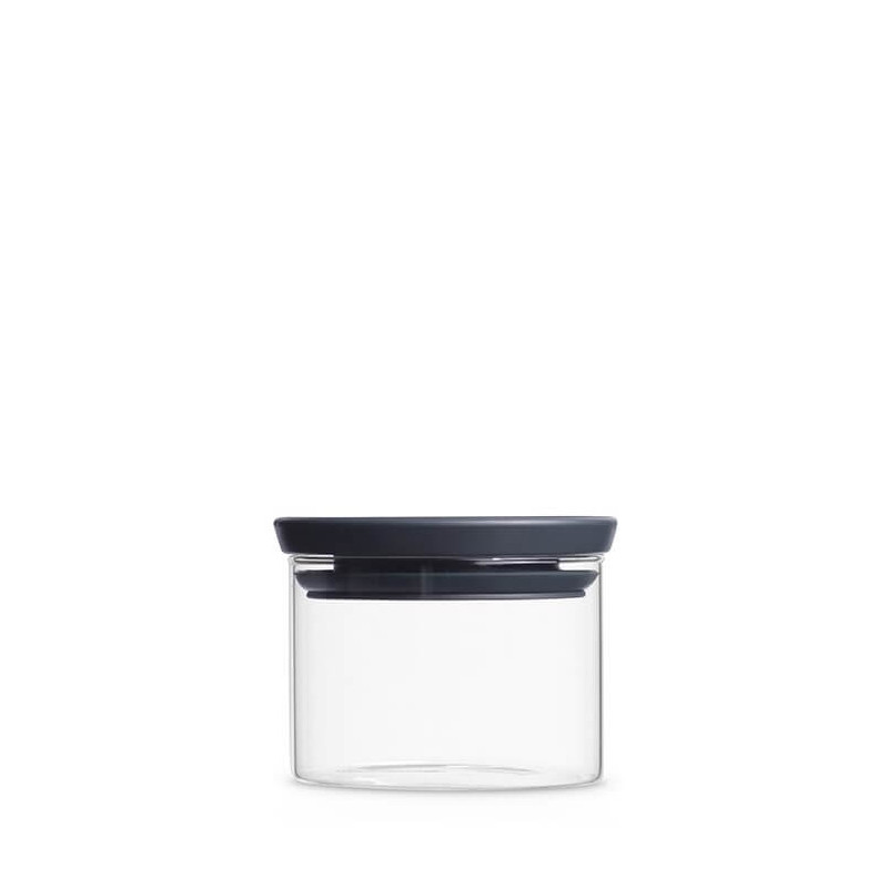 Brabantia Glass Jar Grey 300ml