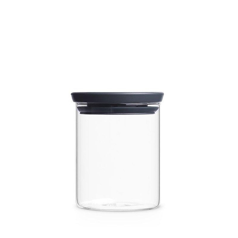 Brabantia Glass Jar Grey 700ml