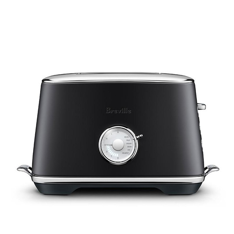 Breville Luxe Toaster Black Truffle