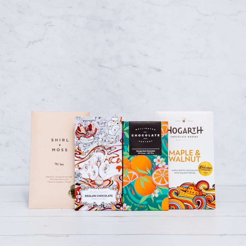 New Zealand Made Handcrafted Chocolate Bar Gift Pack