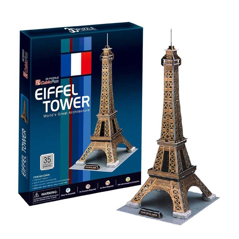 CubicFun-Eiffel-Tower