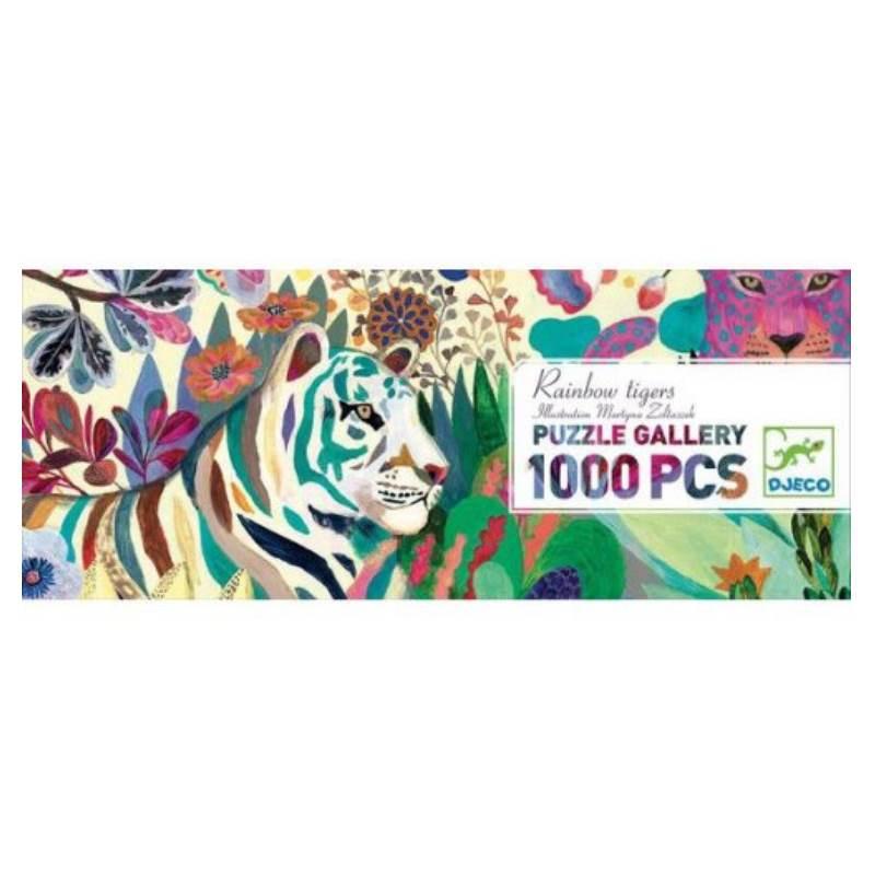 Djeco Puzzle Rainbow Tigers
