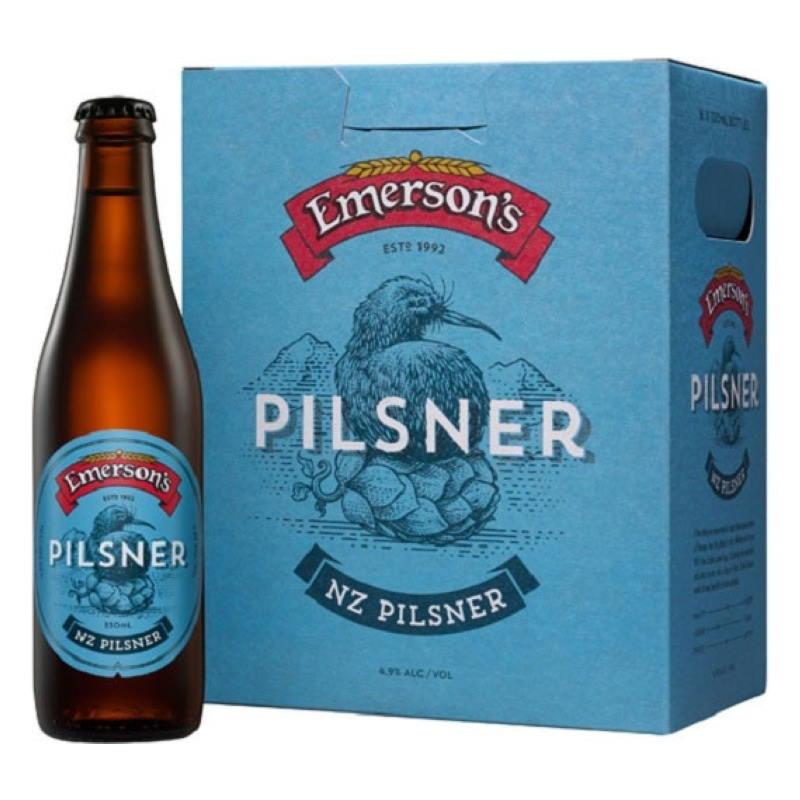 emerson's pilsner 330ml 6pk