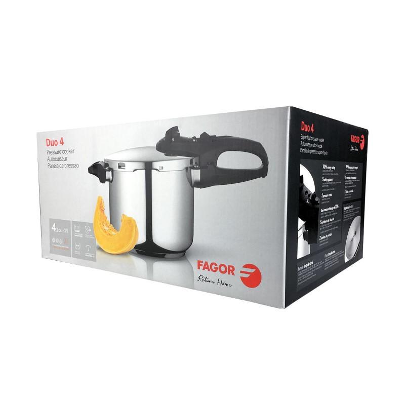 Fagor Duo 4 Litre Pressure Cooker