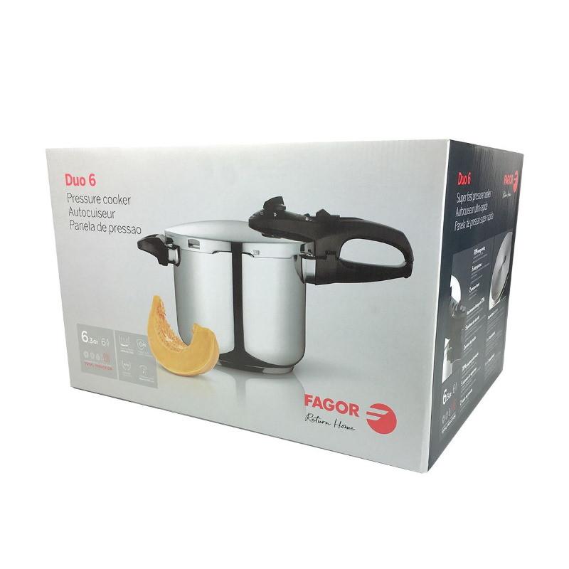Fagor Duo 6 Litre Pressure Cooker