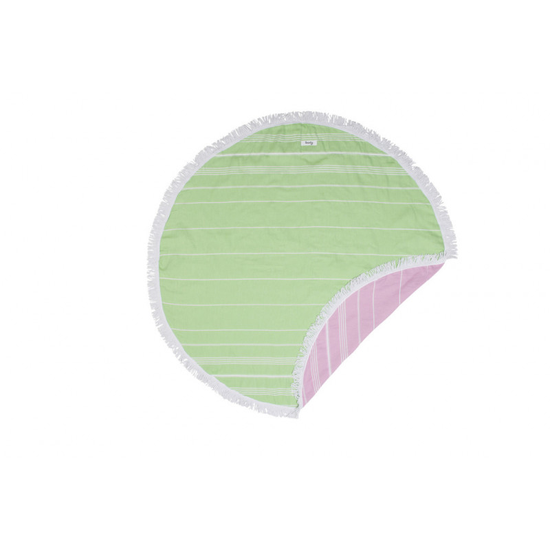 Knotty Retro Round Towel - Gypsy