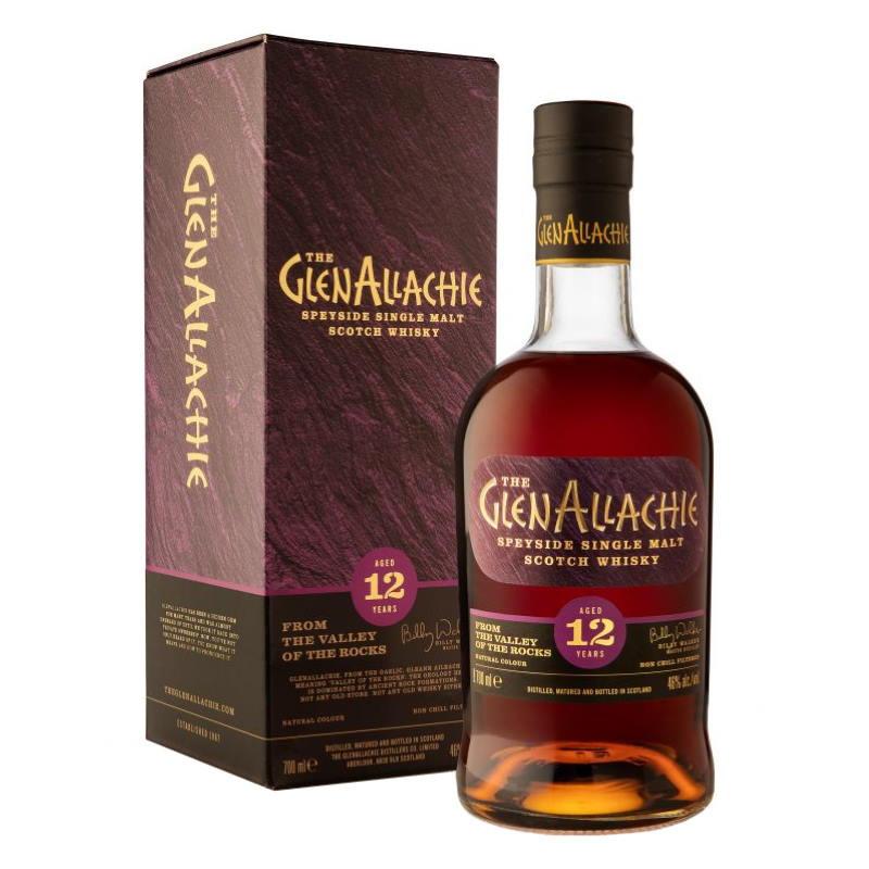 GlenAllachie 12 Year Old Single Malt Scotch Whisky