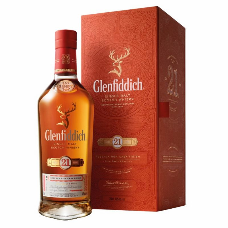 Glenfiddich 21 Year Old Single Malt Whisky