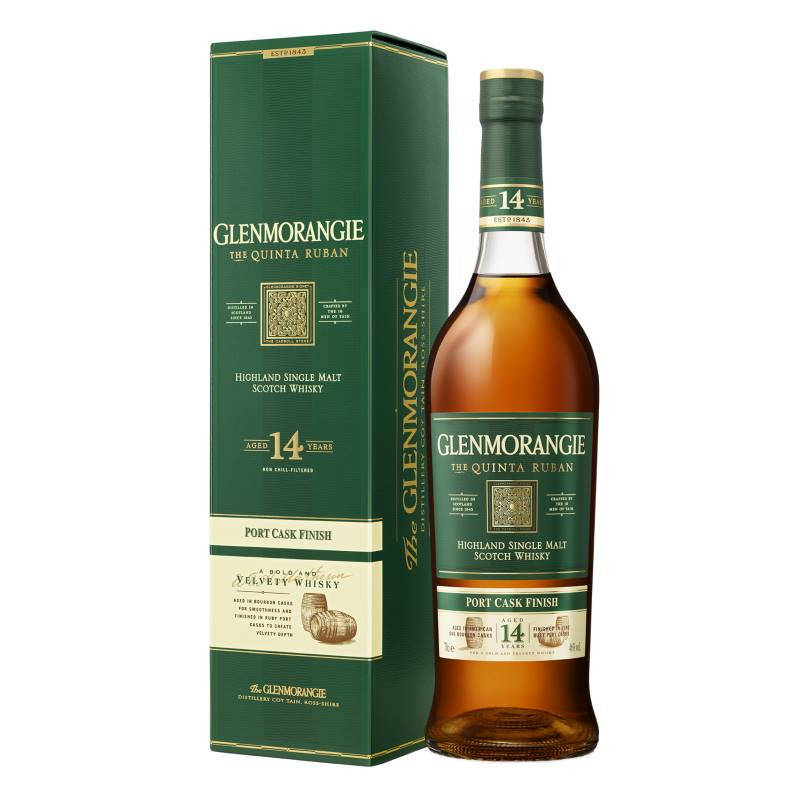 Glenmorangie Quinta Ruban 14 Year Old Single Malt Whisky