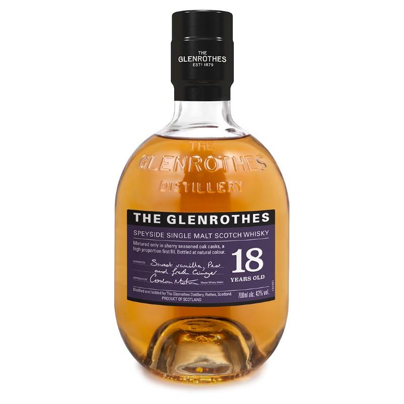 Glenrothes 18 Year Old Singe Malt Scotch Whisky