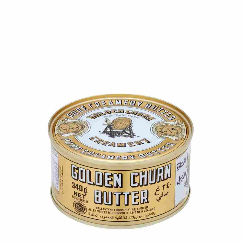 Golden Churn Butter 340g tin