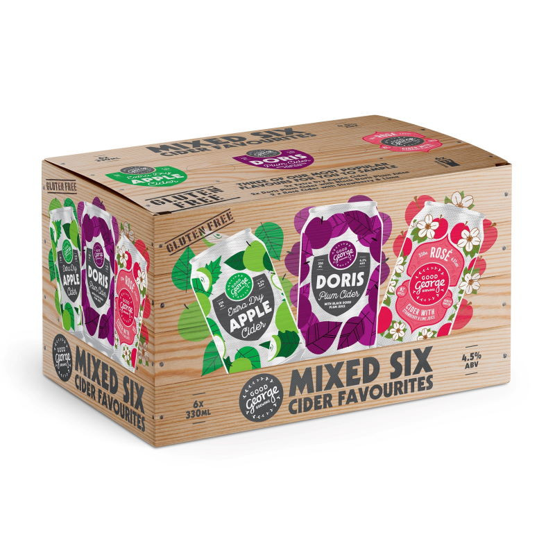 Good George Mix Six Cider Favourites