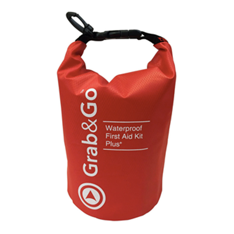 Grab & Go Waterproof First Aid Kit Plus
