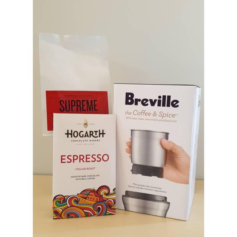 Moore Wilson's Coffee Grinder Gift Pack