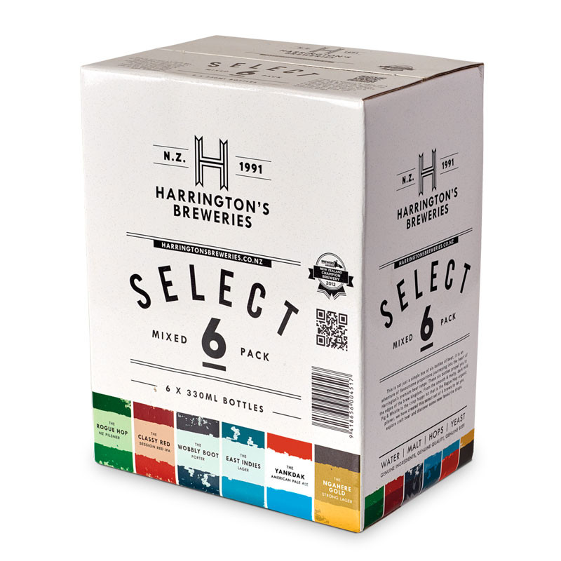 Harringtons Select Mixed 6 pack