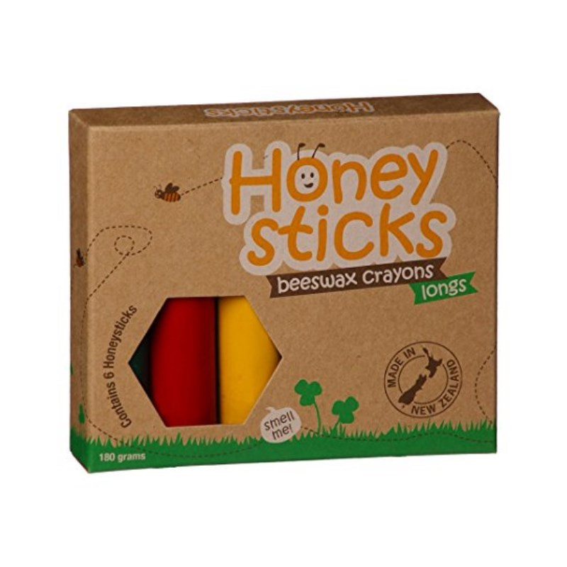Honey Sticks Beeswax Crayons Longs