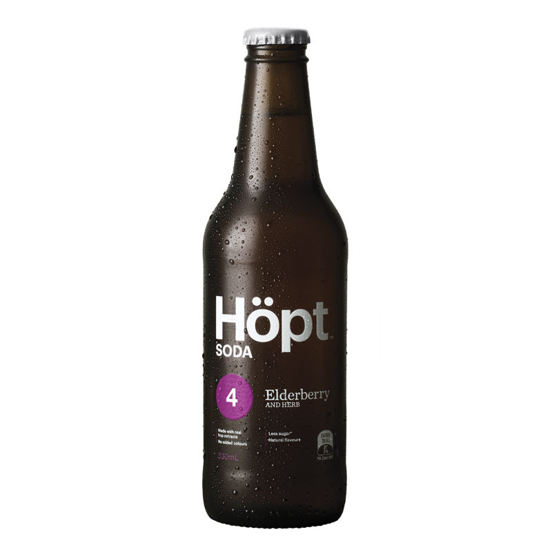Hopt-Elderberry-Soda
