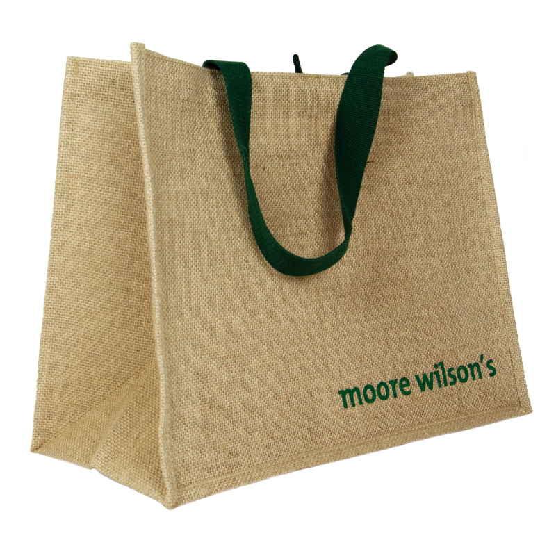 Moore Wilson Jute Grocery Bag