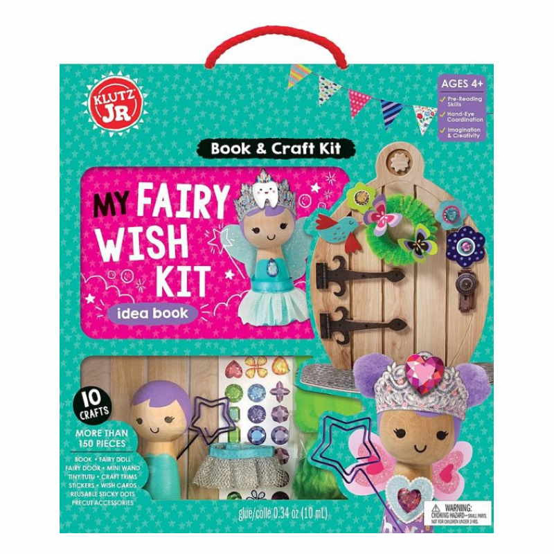Klutz Jr : My Fairy Wish Kit