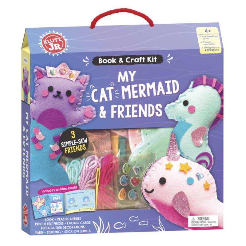 Klutz JR My Cat Mermaid & Friends