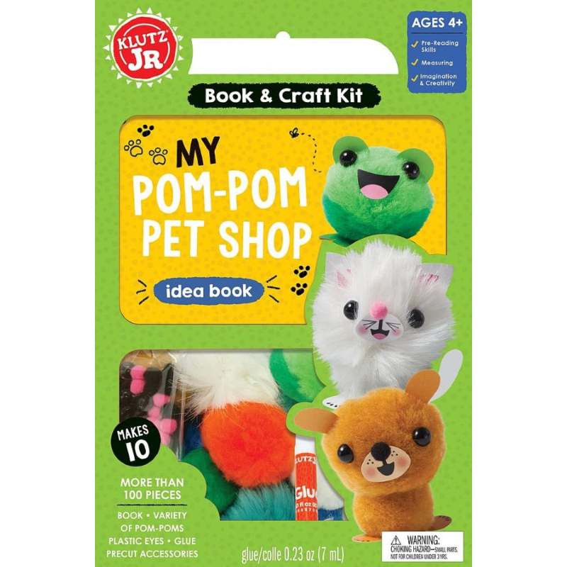 Klutz Pom Pom Pet Shop