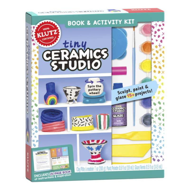 Klutz Tiny Ceramics Studio