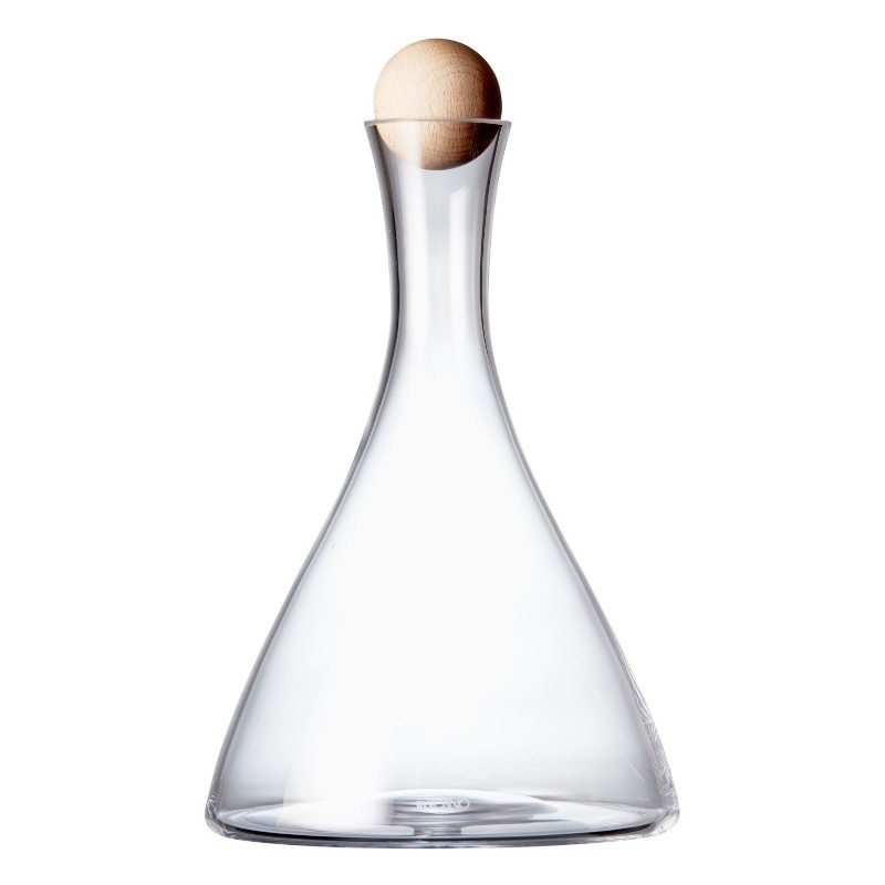 Krosno Vinoteca Decanter with Beech-wood Stopper