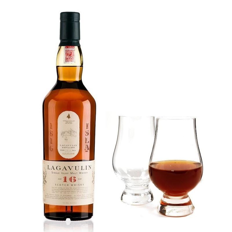 Lagavulin 16 Year Old & The Glencairn Whisky Glass
