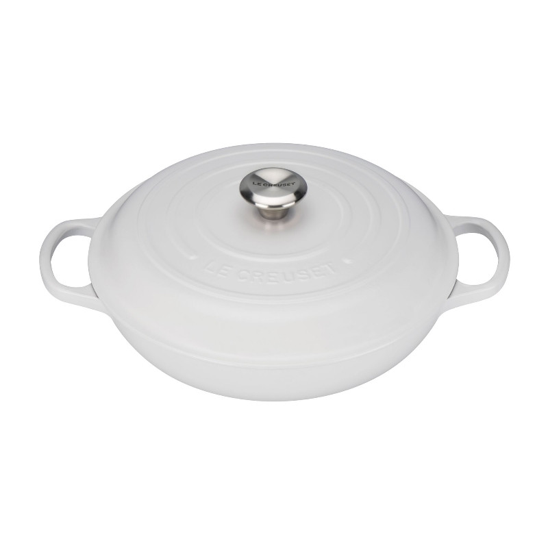 Le Creuset Cast Iron Shallow Cassarole Cotton