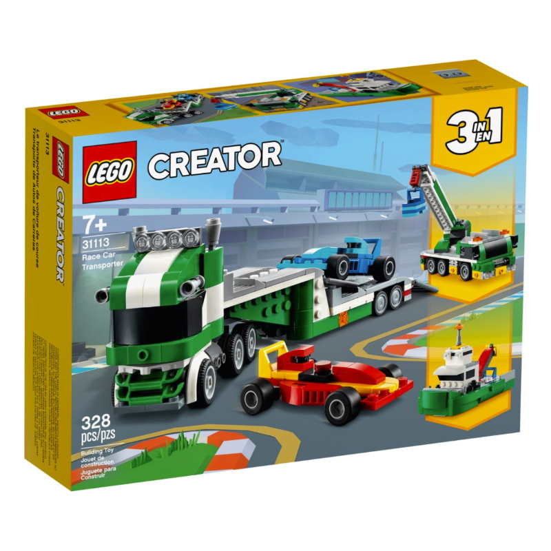 Lego Creator 3in1 Race Car Transporter