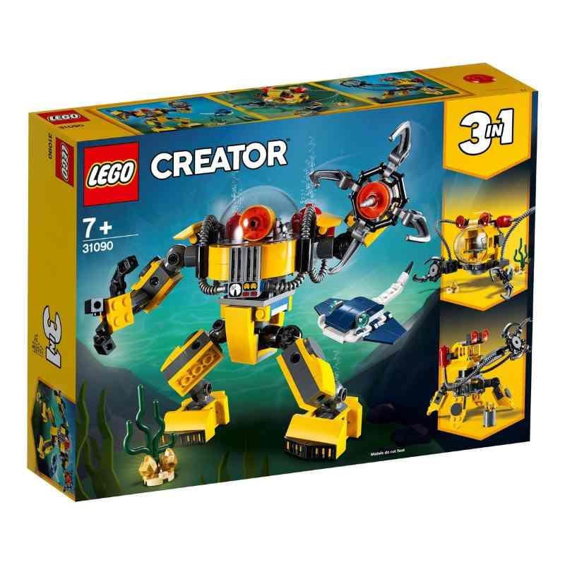 Lego Creator Underwater Robot