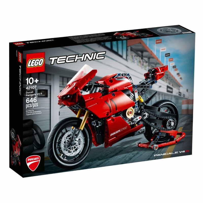 Lego Technic Ducati Panigale VR 4 Motorbike