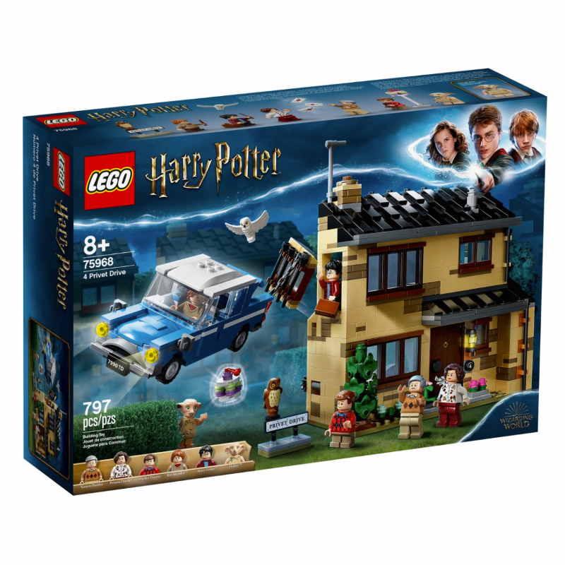 Lego Harry Potter 4 Privit Drive