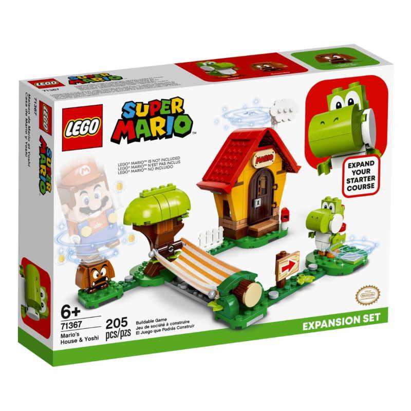 Lego Super Mario Mario's House & Yoshi