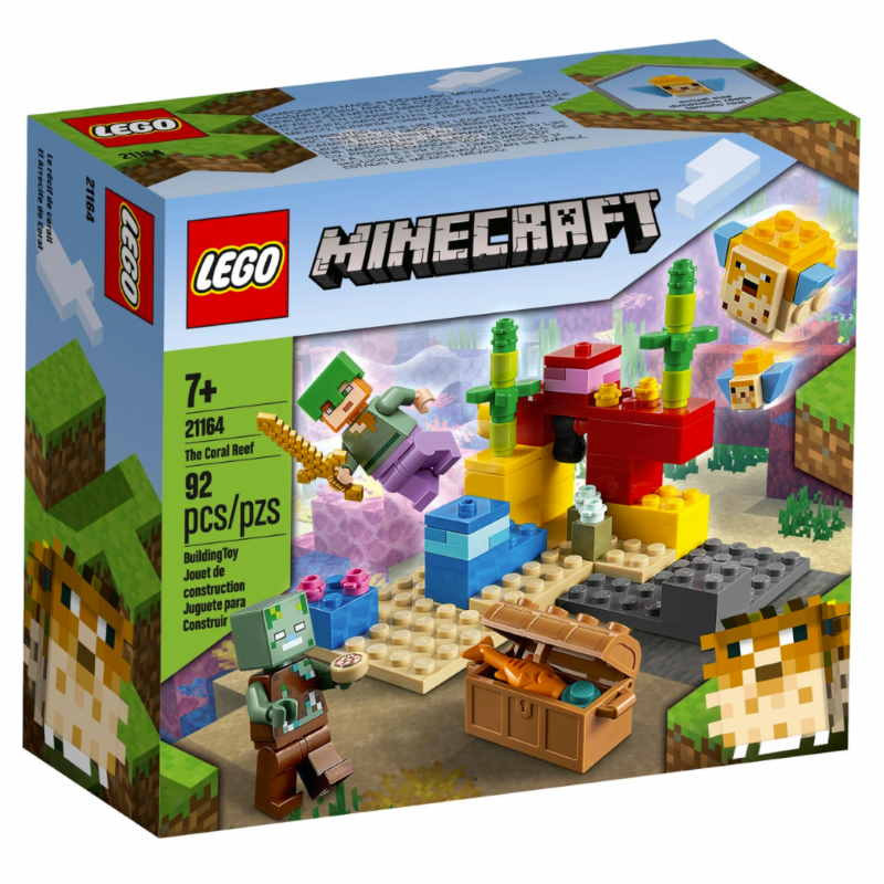 Lego Minecraft The Coral Reef