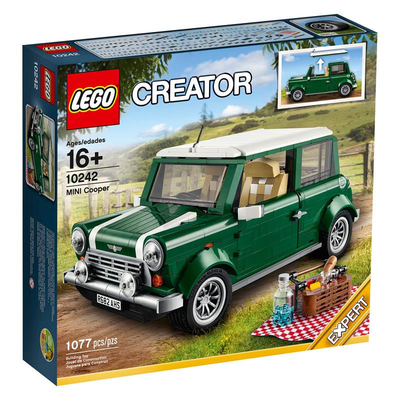 Lego Mini Cooper Box