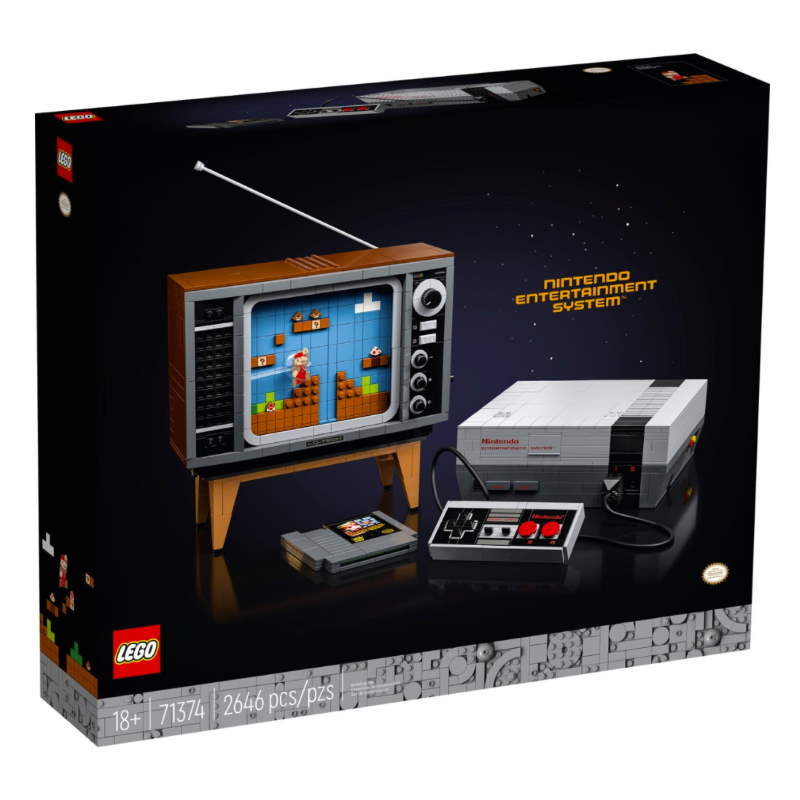 Lego Super Mario Nintendo Entertainment System