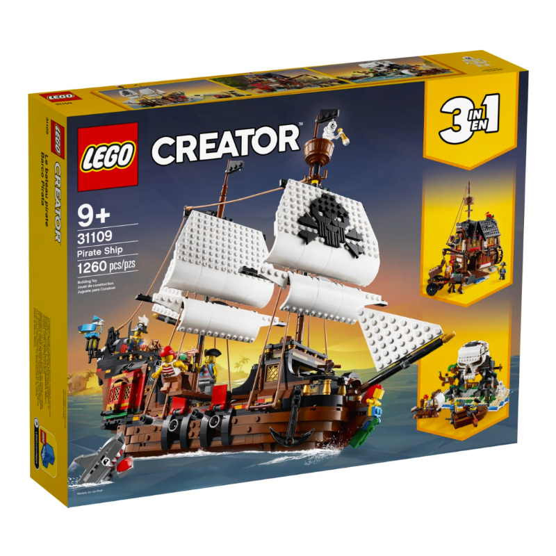 Lego Creator 3 in 1 Pirate Ship