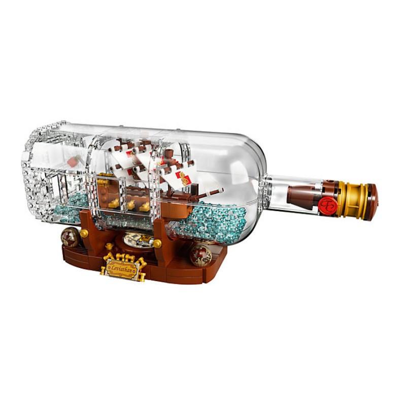 Lego Ship In A Bottle
